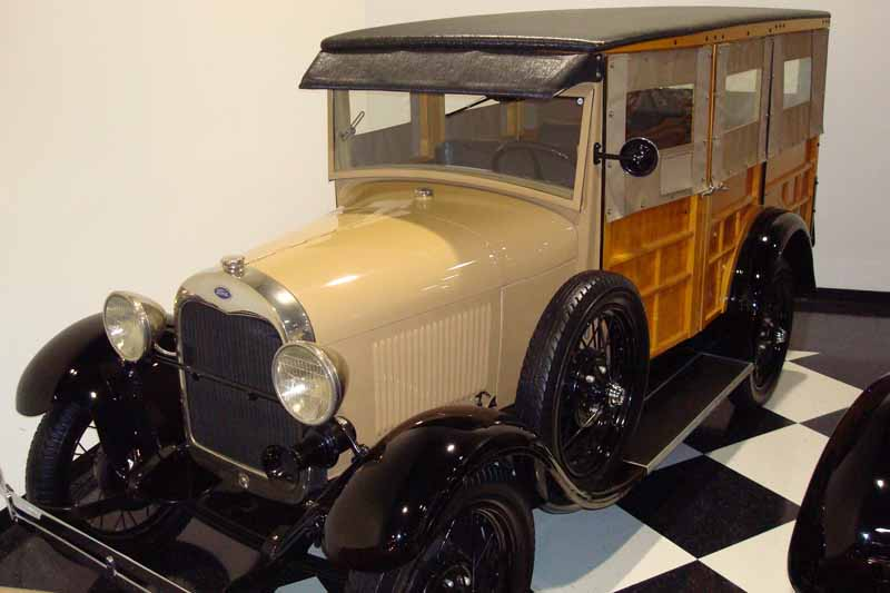 The First Woody The 1929 Ford Model A Station Wagon | Autos Weblog